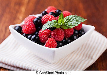 Berry mix - Berry on a white background