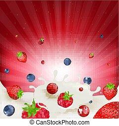 Berry Mix Border