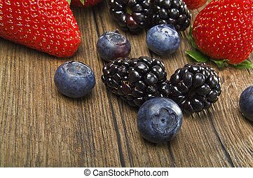 Berry Mix on the table