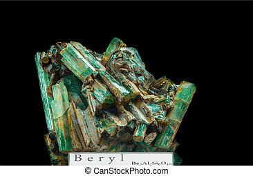 beryl, (or, emerald)