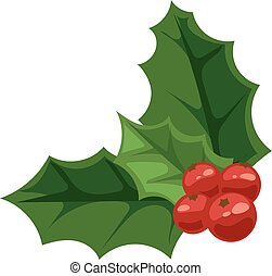 bes, vector, illustration., kerstmis
