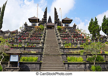 Besakih complex - Pura Penataran Agung, Besakih, Bali,...