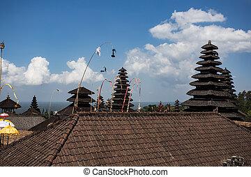 Besakih complex Pura Penataran Agung ,Hindu temple of Bali, Indonesia