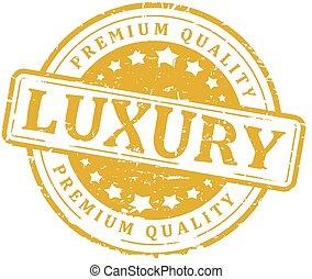 beschädigt, prämie, briefmarke, -, qual, luxus