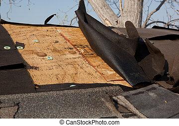 beschadigen, dak