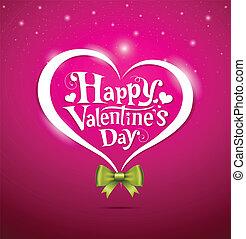 beschriftung, design, tag, valentine