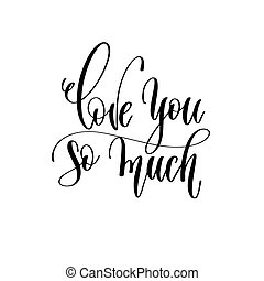 beschriftung, liebe, romantische , inschrift, text, -, hand, viel, so, sie