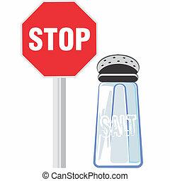 beskytte, anvendelse, sundhed, ikke, salt., din