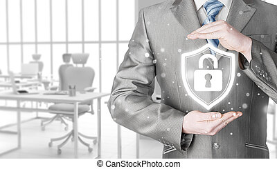 beskyttelse data, og, insurance.