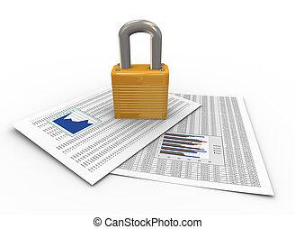 beskyttelse, i, dokumenter