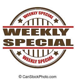 besondere, wöchentlich, briefmarke