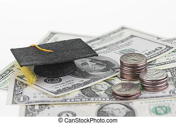 besparing, för, hög utbildning