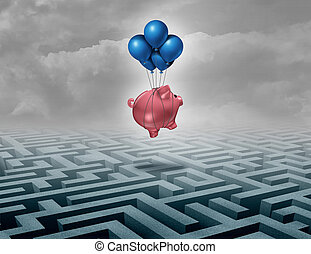 besparingar, finansiellt understöd