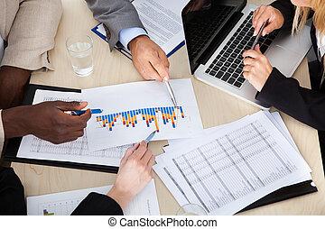 Besprechen,  Multi, Gruppe,  businesspeople, ethnisch