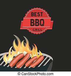 Best BBQ grill poster