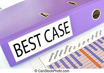 BEST CASE  folder on a market report