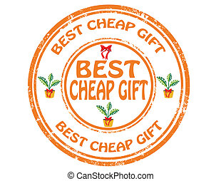 Best cheap gift-stamp