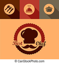 best chef labels
