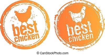 Best chicken stamps.