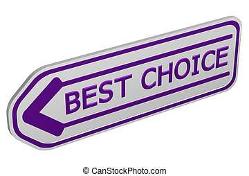 Best choice arrow