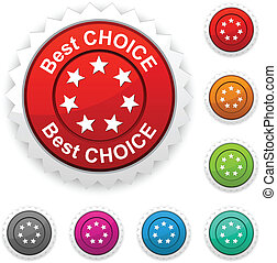 Best choice award.