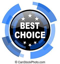 best choice black blue glossy web icon