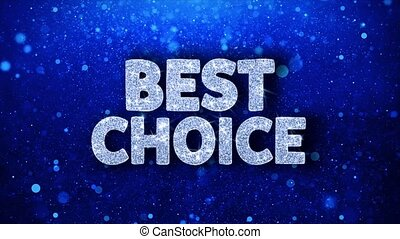 Best Choice Blue Text Wishes Particles Greetings,...