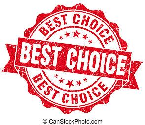 Best Choice Grunge Stamp