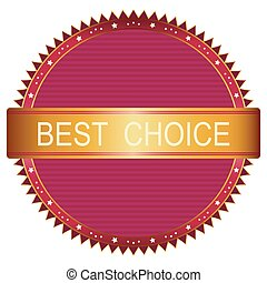 Best choice red label