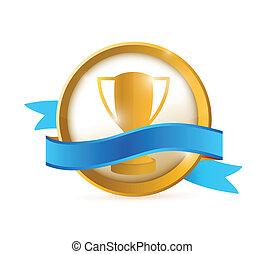 best choice seal illustration design