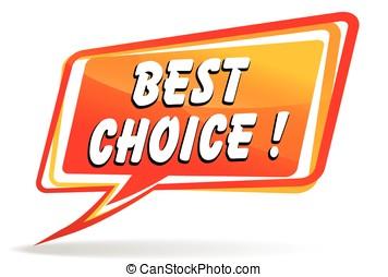 best choice speech