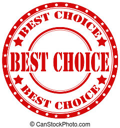 Best Choice-stamp