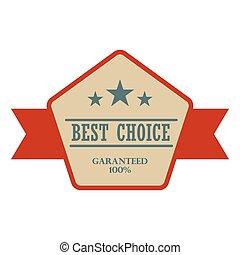 Best choice vintage banner