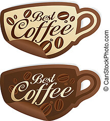 Best coffee stickers.