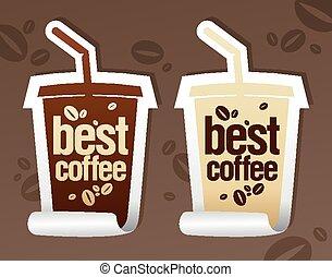 Best coffee stickers.