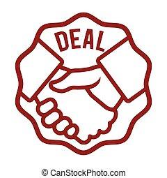 Best deal design. - Best deal design, vector illustration...