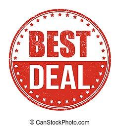 Best deal stamp