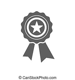 Best first prize medal icon