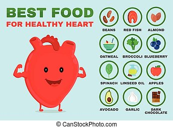 Best food for healthy heart. Strong heart
