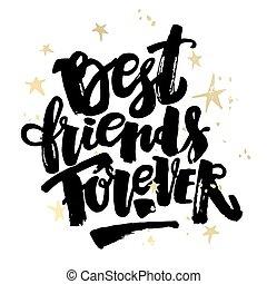 Best friends forever.
