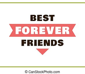 Best Friends FOREVER Red