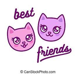 Best friends kitties