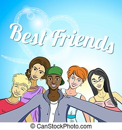 Best Friends Selfie