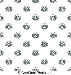Best glass beer pattern seamless
