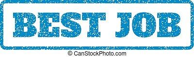 Best Job Rubber Stamp