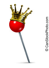 Best Location - Best location symbol with a red pushpin as a...