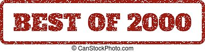 Best Of 2000 Rubber Stamp