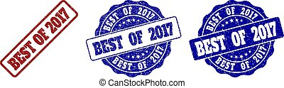 BEST OF 2017 Scratched Stamp Seals