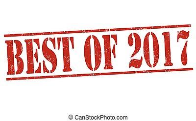 Best of 2017 stamp
