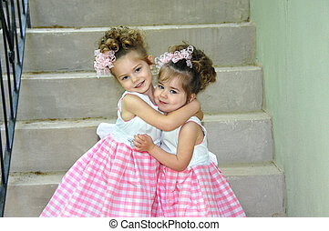 Best of Sister Friends - Two sisters dressed identically ...
